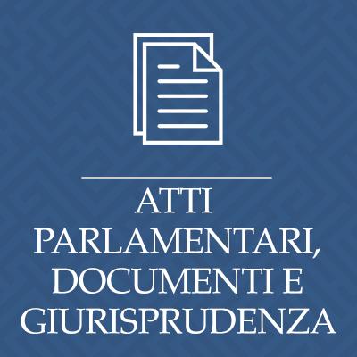 Atti parlamentari e documenti