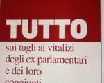 """Segnalazioni Stampa - """"Instant Book"""" sui Vitalizi: ricorsi dal Veneto"""