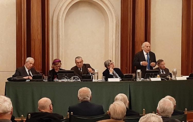 Cinquantenario dell'Associazione, 17/12/2019 - Gli interventi di Bianco, Mirabelli, Falomi e Zolla